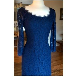 Stunning DVF lace dress